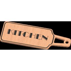 Kitchen Key Tag