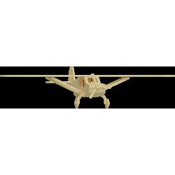 3mm J3 Mini Cub Plane 3D...
